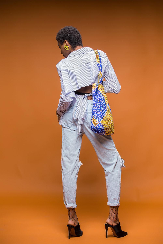 Denkara Jeans by Inidara Brand| Tote by Inidara Brand