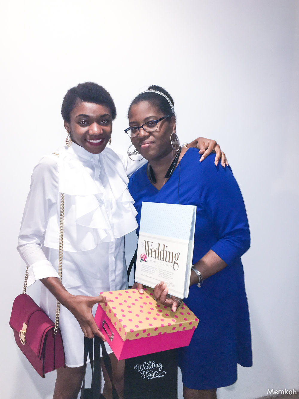 Bridal Stylist, Memkoh with a Memkoh Bridal Box recipient