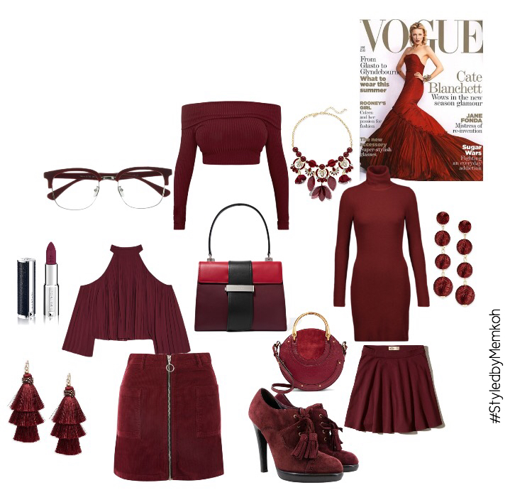 Our Burgundy Medley. It's so dreamy, right?