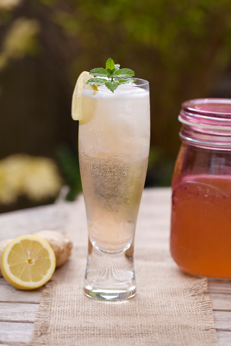 Fiery Ginger Ale is perfect served in a long glass with plenty of ice - sunshine optional!