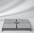 Plieninis pagrindas, komplektuojams su betoninėmis plytelėmis (perkamos atskirai). KAINA: 225 Eur