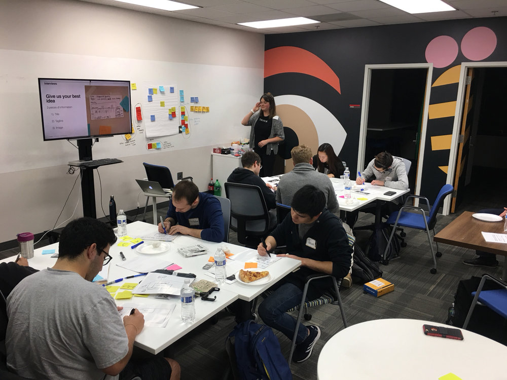 Facilitation - Using my design thinking knowledge in order to help teams align on solutions. Here's a link for the methods I use to build design thinking workshops.