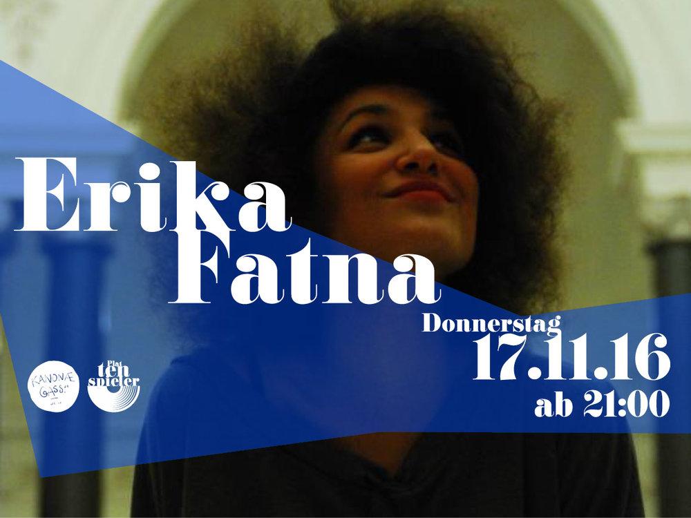 DJ Erika Fatna
