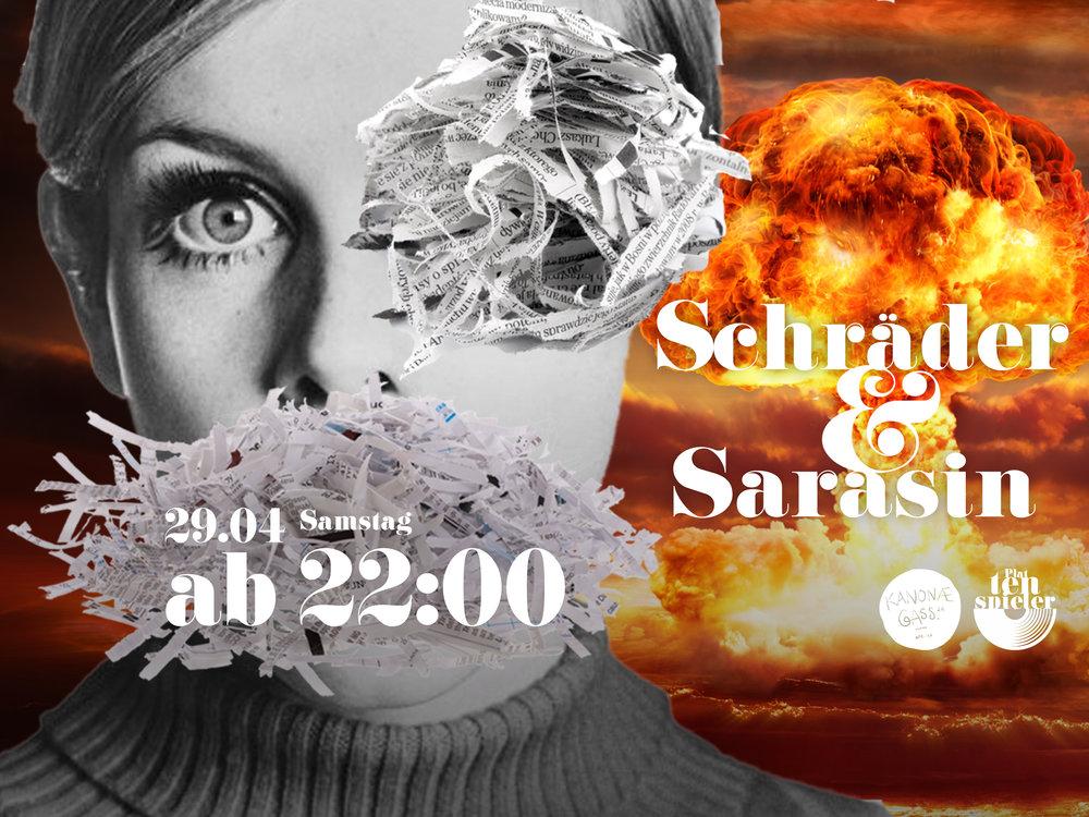 Bar Zürich Kanonaegass Kreis 4 Schräder & Sarasin
