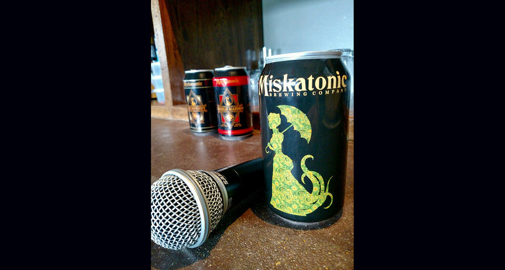 Reno Karaoke on Thursday 4/27   $6 draft pints & $5 cans of Miskatonic beers for liquid courage!  9pm, no cover, 20,000 songs    More info