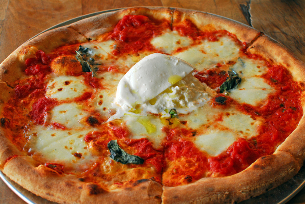 Dine in only    All pizzas 2 for $20, every Tuesday    $2 whiskey shots & $2 PBRs, too