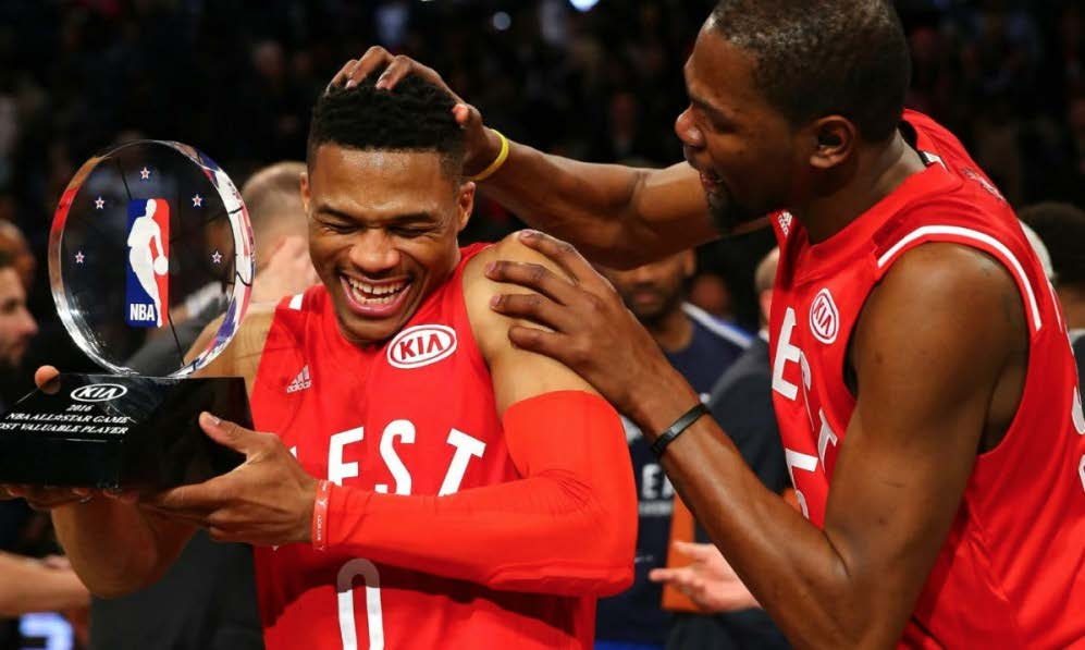 Russell Westbrook, NBA All-Star Game MVP 2016.