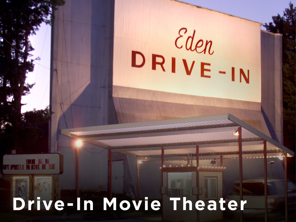 Famous Eden Drive-in Movie Theater