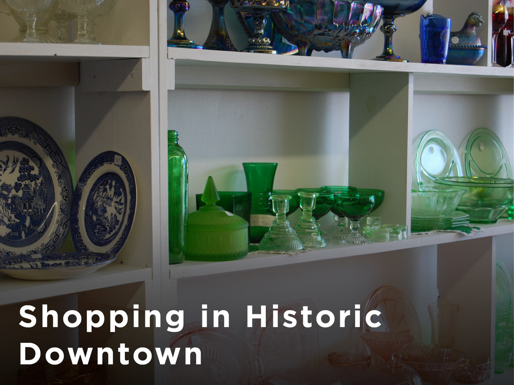 Shopping in Historic Downtown Eden