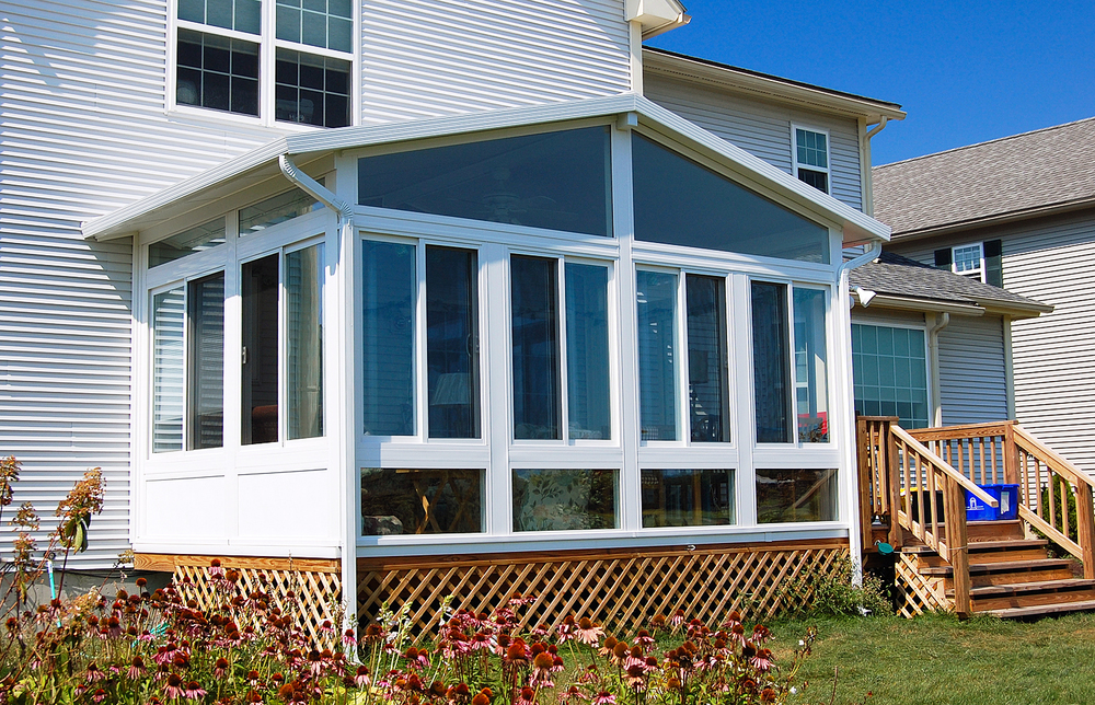 gable (A-frame) sunroom