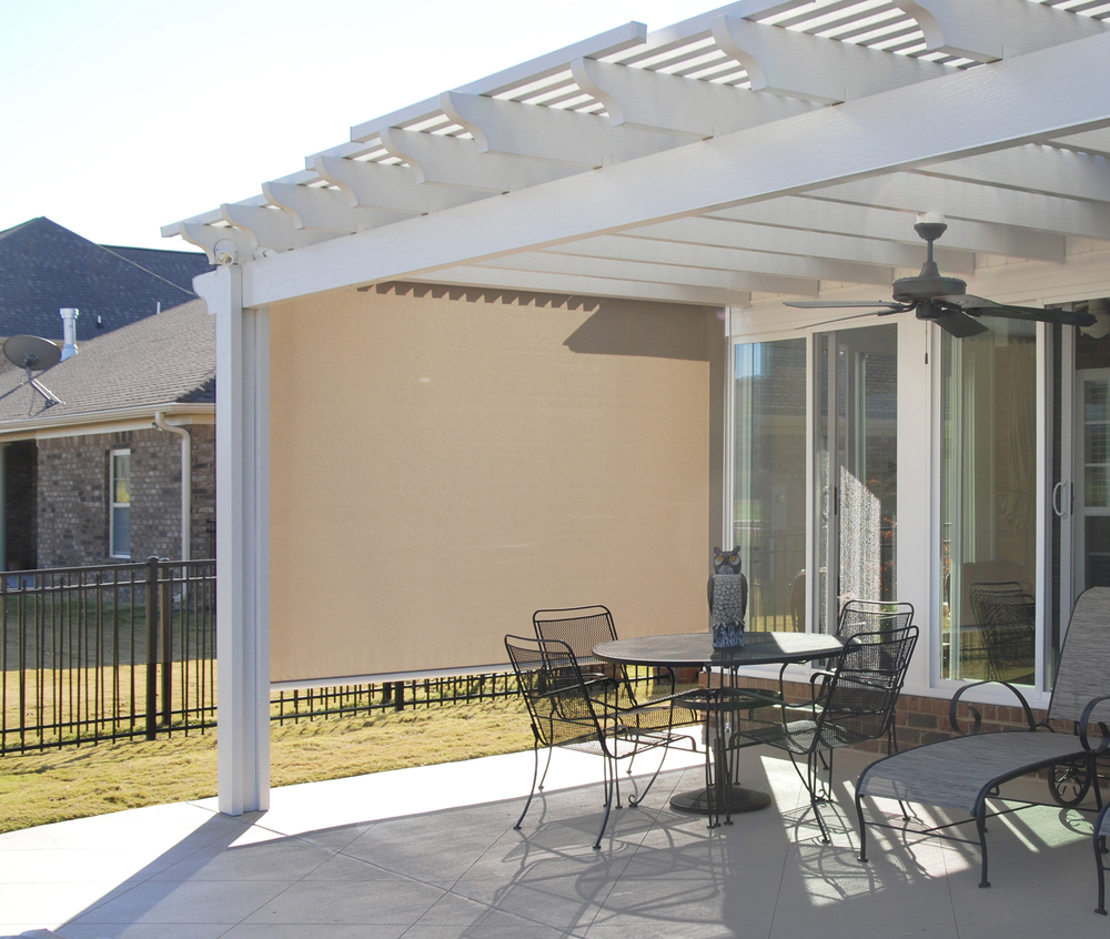 Horizontal Shade & Pergola