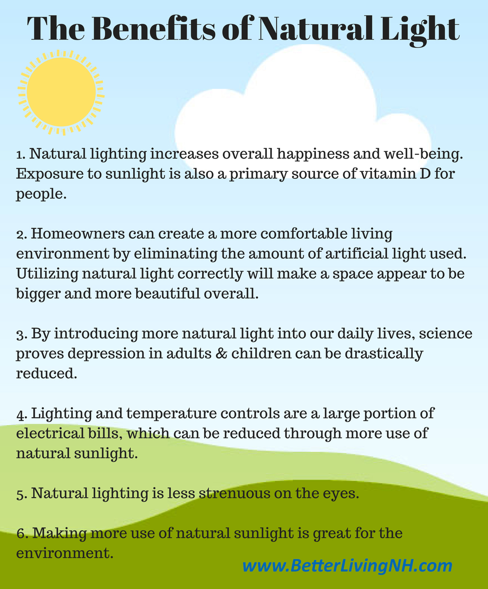 Benefits Of Natural Sunlight Betterliving Sunrooms Of