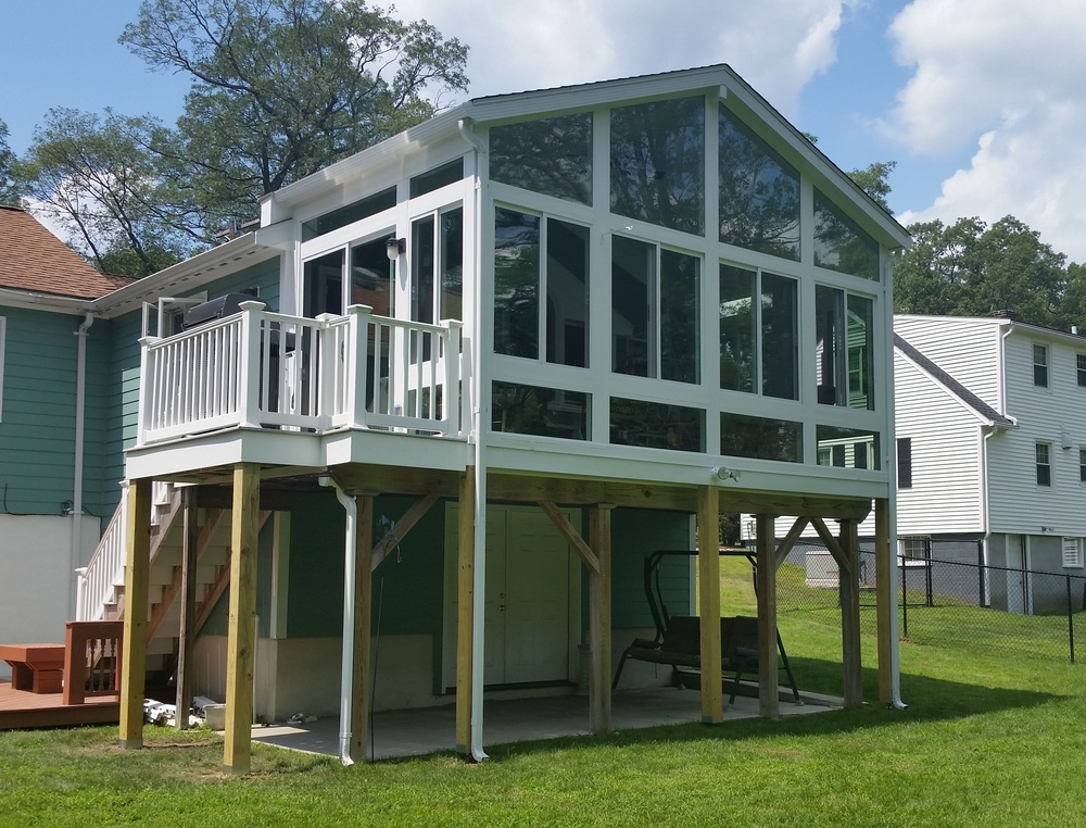 Sunroom addition - Chelmsford, MA