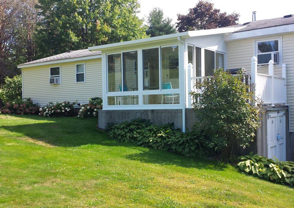3 Season Sunroom addition in Jaffrey, New Hampshire