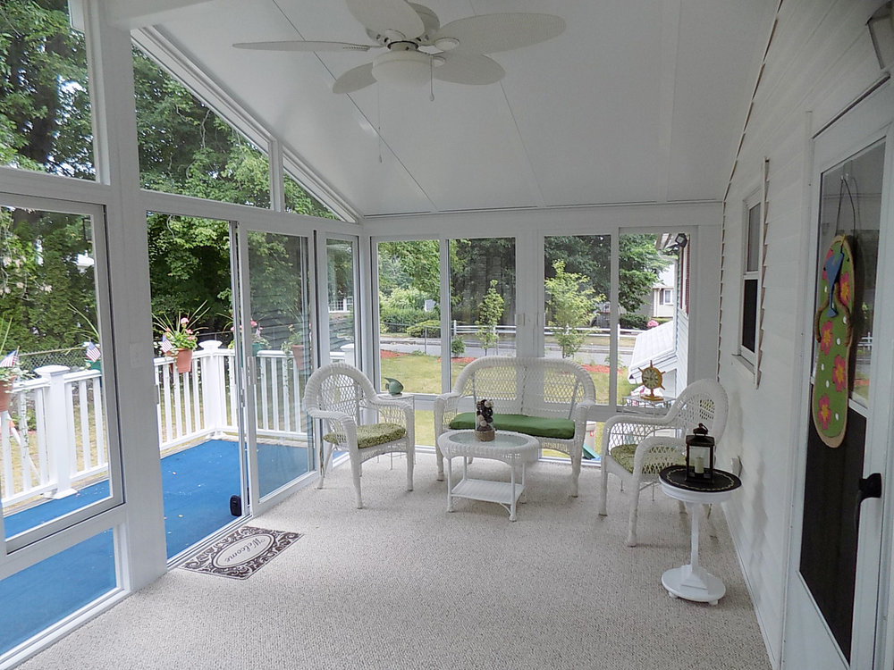 3-season sunroom, Lowell, MA