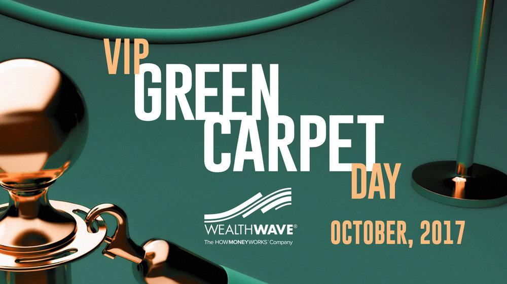 October VIP Green Carpet Day