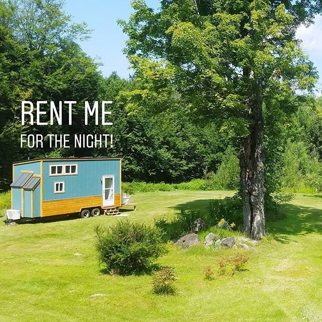 Want to test drive the tiny life? RENT LIL BLUE FOR THE NIGHT!! She is currently parked on our stunning property in southern Vermont overlooking our beautiful wetlands. It's a great opportunity to decide if Lil Blue is the right tiny house for you! . Direct links to Airbnb and our blog for more details are in the bio 👈👌 . Want to buy this tiny house? It's for sale!!! Message me with inquiries. . Note: Lil Blue's plumbing is currently off-grid, which means no running water or showers are available, but we do provide 20 gallons of fresh water to drink, cook, and clean with. Think you can handle the rigors of off-grid living? This is a great chance to test it out! . #tinyhouse #tinyhousecrafters #tinyhousemovement #lilblue #airbnb #tinyhouseforsale #tryittiny #thow #rentatinyhouse #tinyhome #homeiswhereyouparkit #tinyliving #minimalism #vacation #livesimply #tinyhousebigliving #offgrid #homeonwheels #8x20tinyhouse