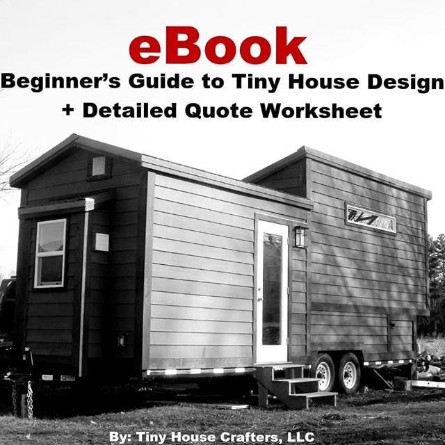Have you seen our eBook yet?? . The Beginner's Guide to Tiny House design is perfect for anyone: ✔ Starting their tiny house research and preliminary design work ✔ Figuring out their budget and project scope ✔ Designing an off-grid utility system ✔ Building a tiny house in New England ✔ Interested in learning more about tiny houses in general! . Check out our story highlights for a sneak peek into the book! . #tinyhouseebook #ebook #tinyhouse #tinyhousecrafters #tinyhousedesign #tinyhousemovement #thow #tinyhouseparking #tinyhouseonwheels #livesimply #tryittiny #homeiswhereyouparkit #diy #tinyhouseblog #minimalism #lifeontheroad #homeonwheels #tinyhome #offgrid