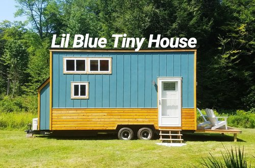 8x20 Lil Blue How To Buy A Tiny House Tiny House Crafters Llc