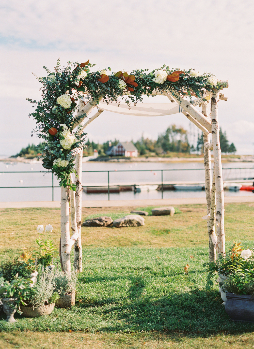 "MARTHA STEWART WEDDINGS, ""A South-Meets-East Coast Nautical Maine Wedding"