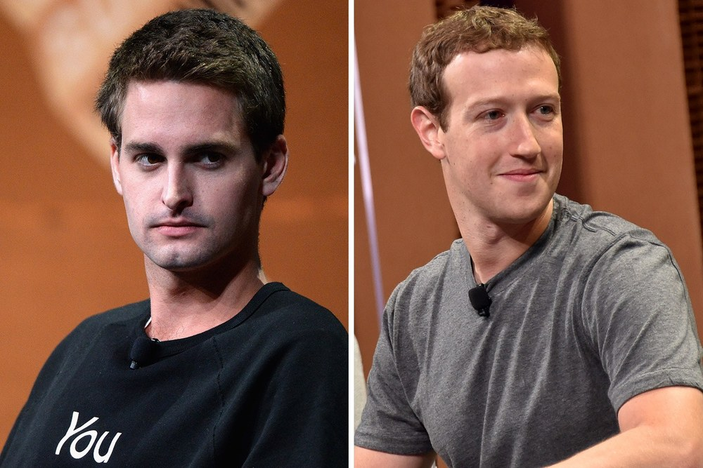 "In what could have been the ultimate (fire) sale: SnapChat CEO & Founder Eric Spiegel (pictured left) refused Facebook CEO Mark Zuckerberg's offer to buy SnapChat for $3 billion in 2013. As of February 2016, SnapChat's current valuation is $16 billion. Know your value, and stand by it - say ""NO."""