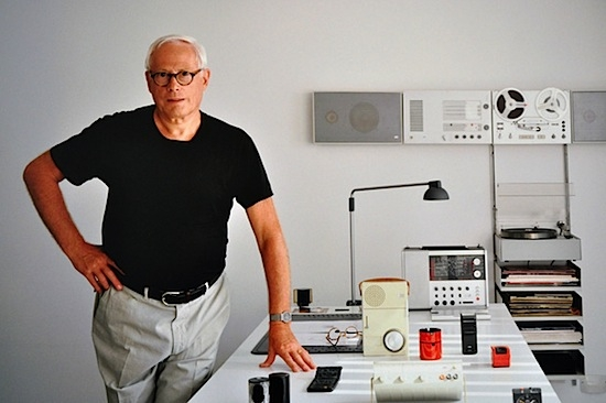 Legendary Braun design, Dieter Rams.