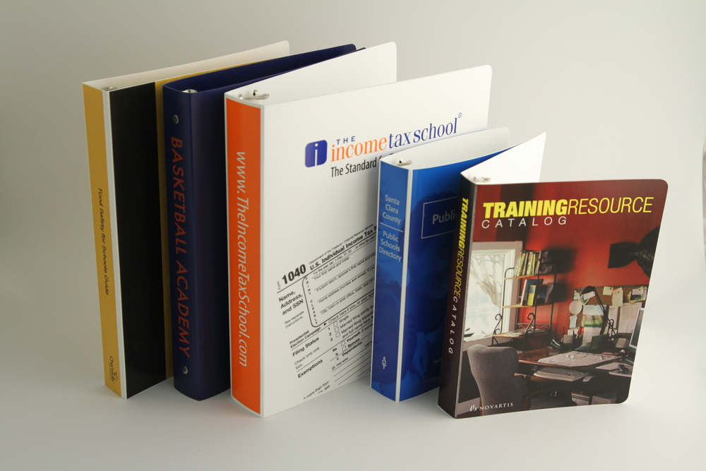 PE Binders - Screened & Digitally Printed