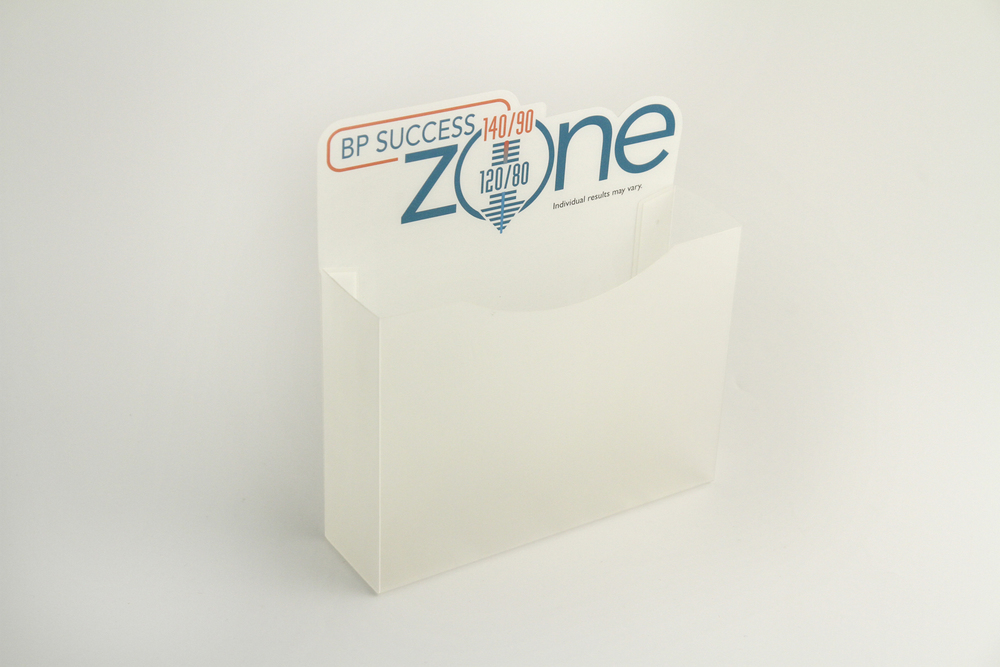 Clear PP Custom Flyer Holder - Offset Printed