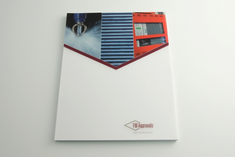 .018ga Clear PP - Offset Printed 4CP + White/0. One Piece Cover