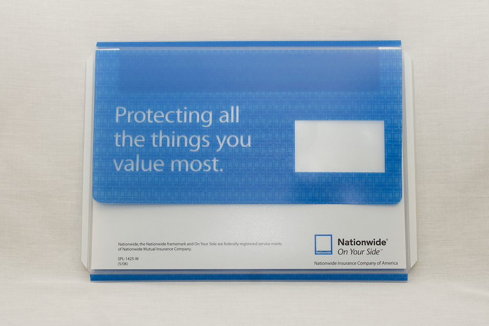 Clear PP Envelope - Offset Printed