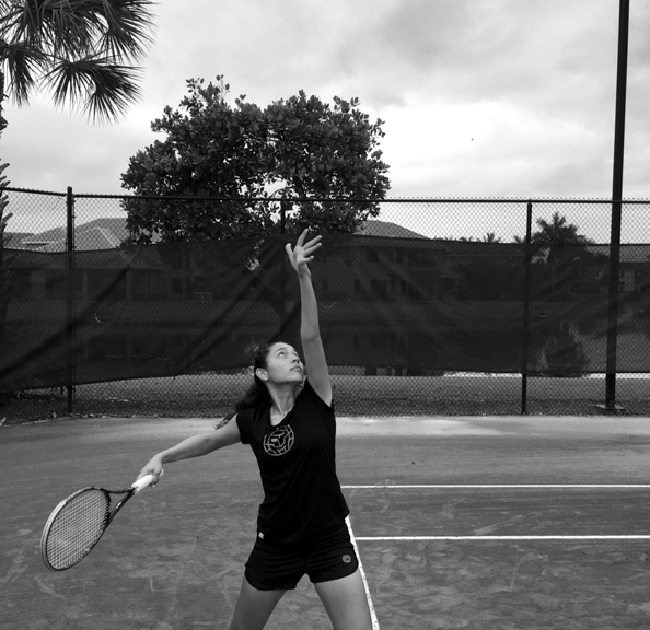 Karla Holt - From Basketball Player to aspiring tennis Karla