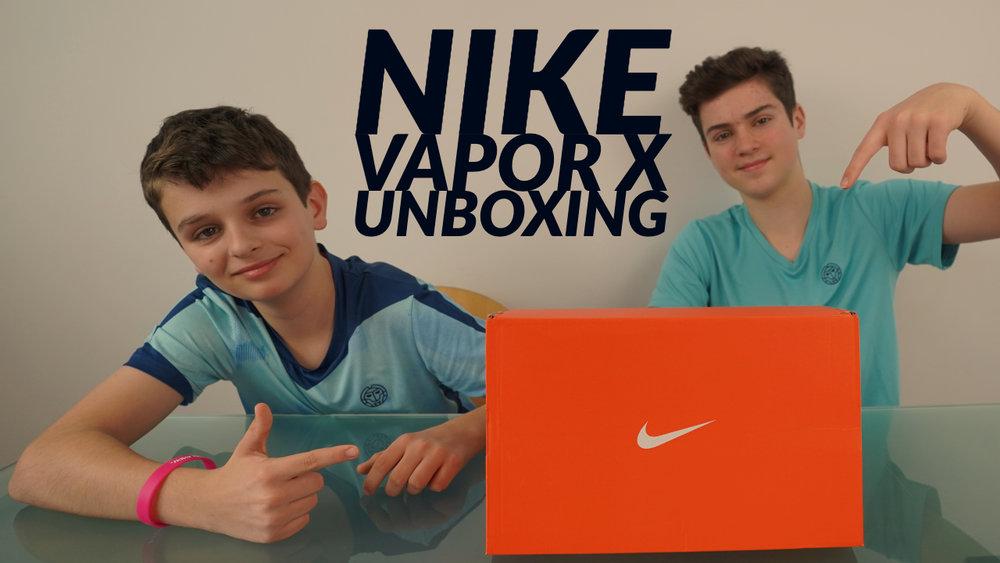 UNBOXING NIKE VAPOR X - Is it better than the Vapor 9.5?