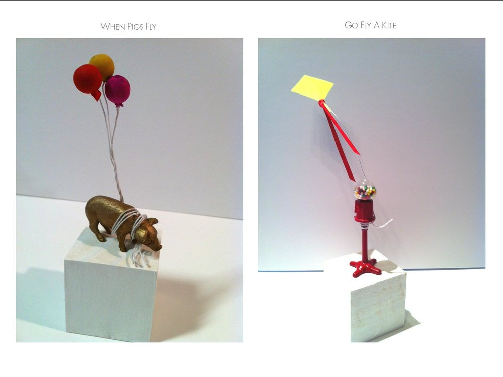 Miniature Sculptures - Celebrating Uplifting Energy for the New Year!