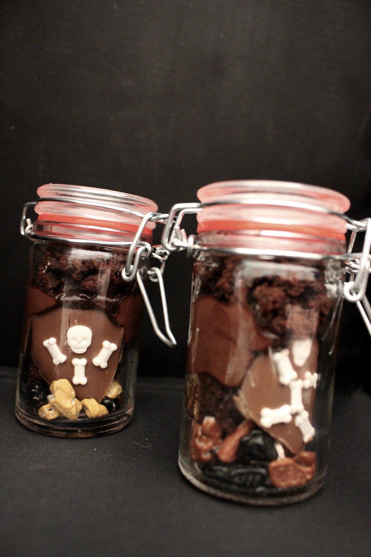 These are teeny-tiny jars.