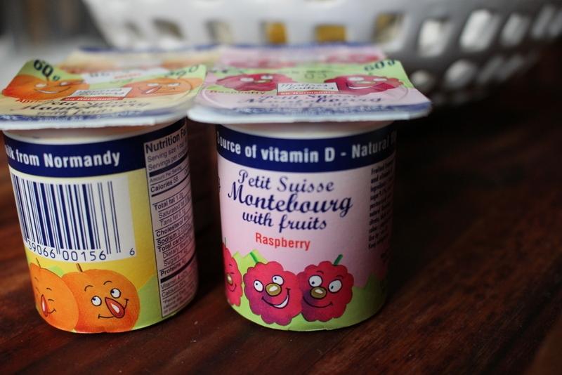 The offending yogurts. #meandthemoose #roastedstrawberryyogurt #yogurt #strawberries