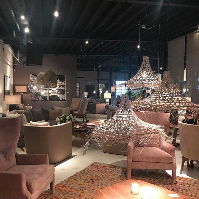 Verellen's showroom is stunning as always! Love getting to work with them. #highpointnc #furnituremarket