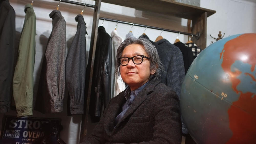 KAZUSHI OTA IN HIS SHOWROOM IN NYC