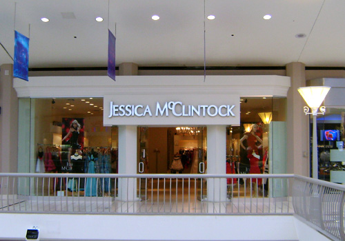 Jessica McClintock   Completed multiple projects for Jessica McClintock  Completed (4) new store locations in Alabama, Texas, New Jersey & Pennsylvania  All stores were located in high-end malls with department stores such as Neiman Marcus, Saks, and Nordstrom