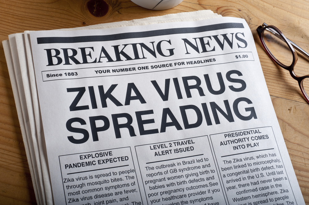 Mosquito Zika Virus Spreading