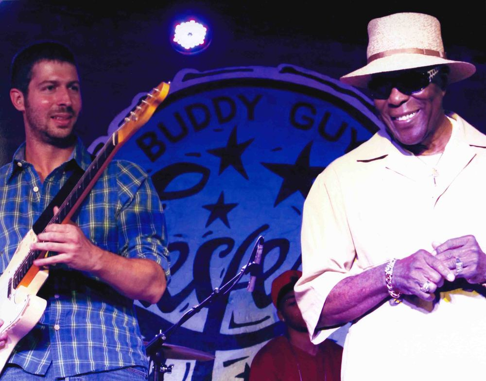 with Buddy Guy, Chicago IL 2012