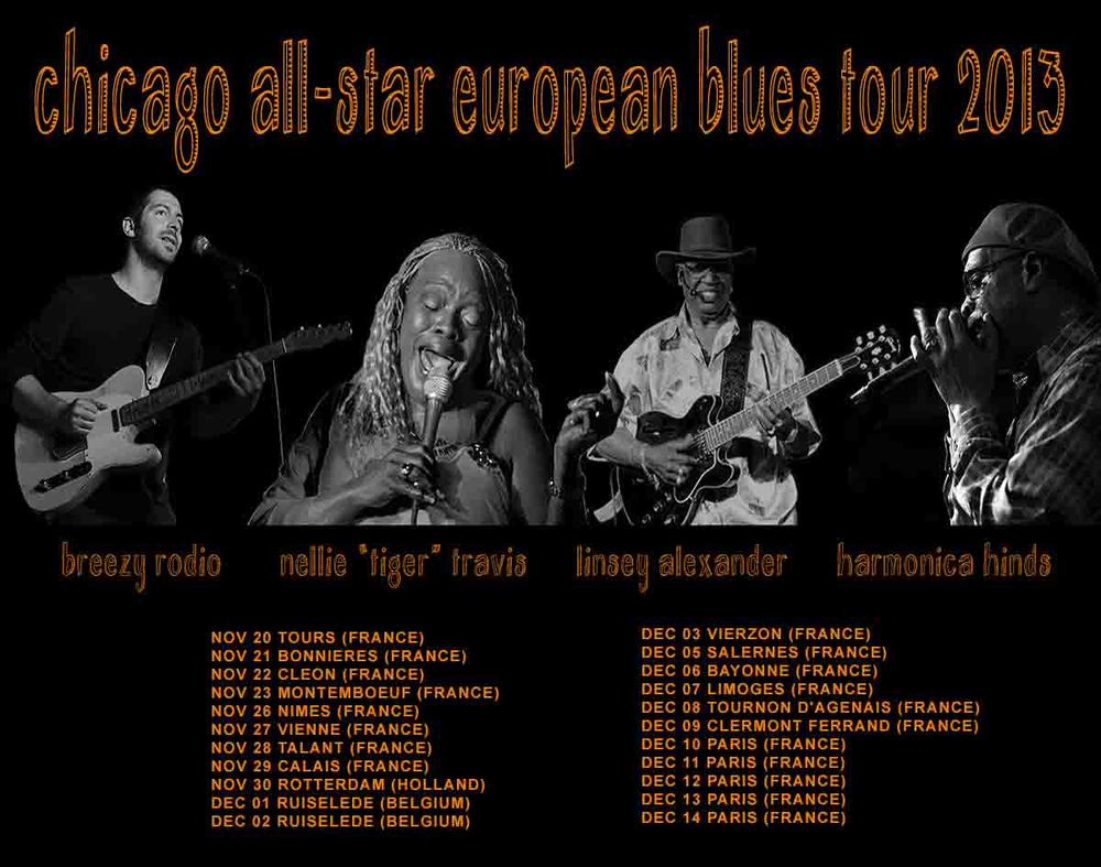 European Blues Tour 2013