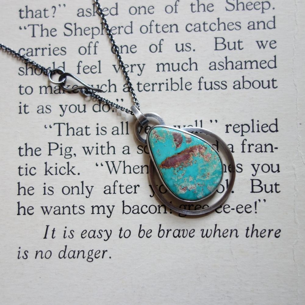 Royston Turquoise Necklace - Mertimadekc.com