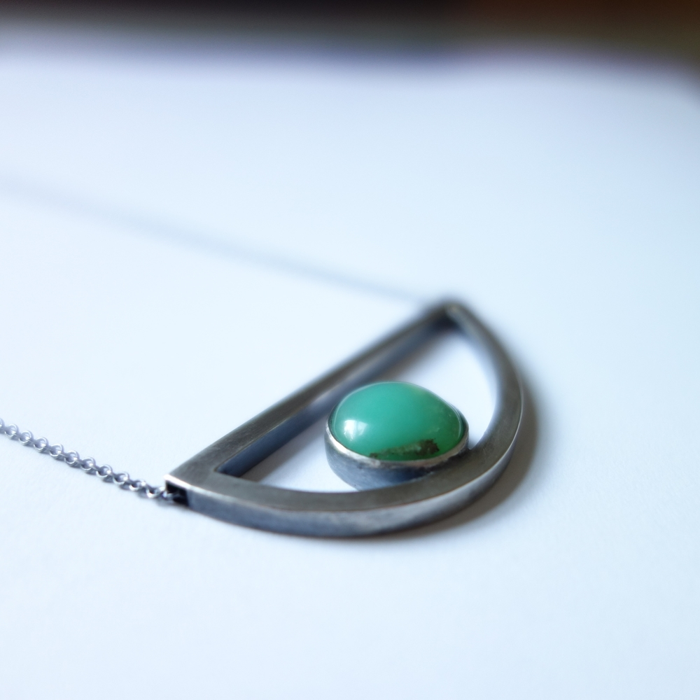 Asymmetrical Necklace - Meritmadekc.com