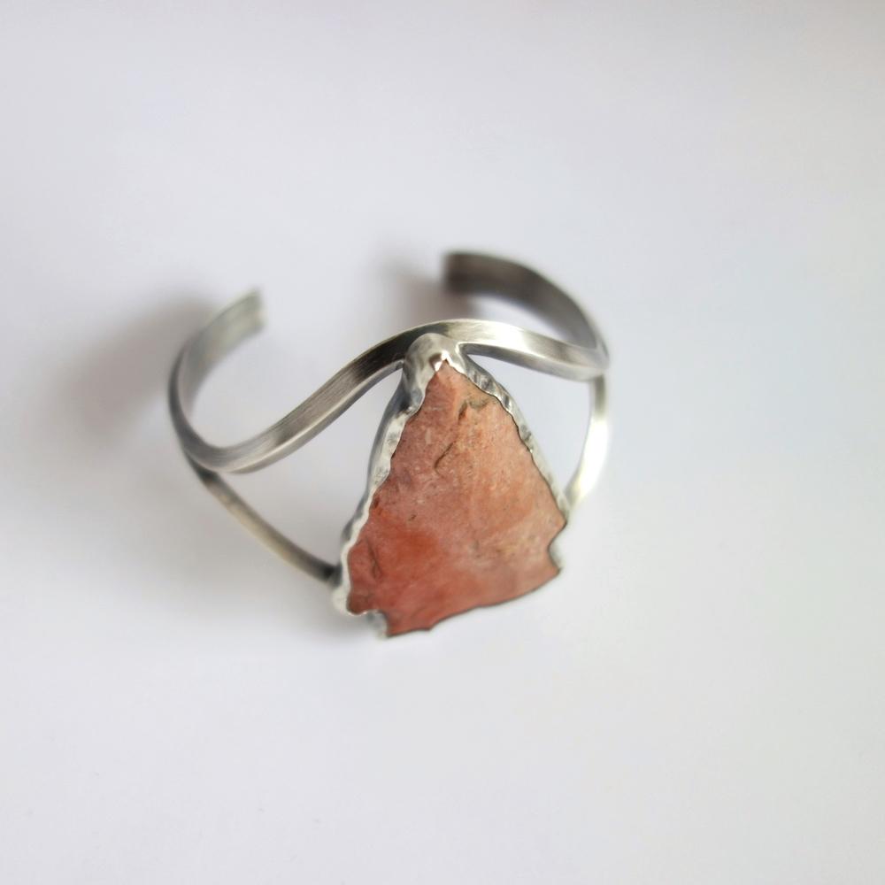 Arrowhead Cuff Bracelet by MeritMade