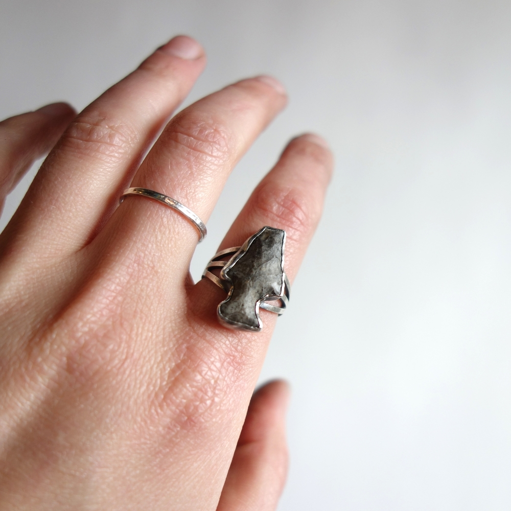 Arrowhead Ring by MeritMade