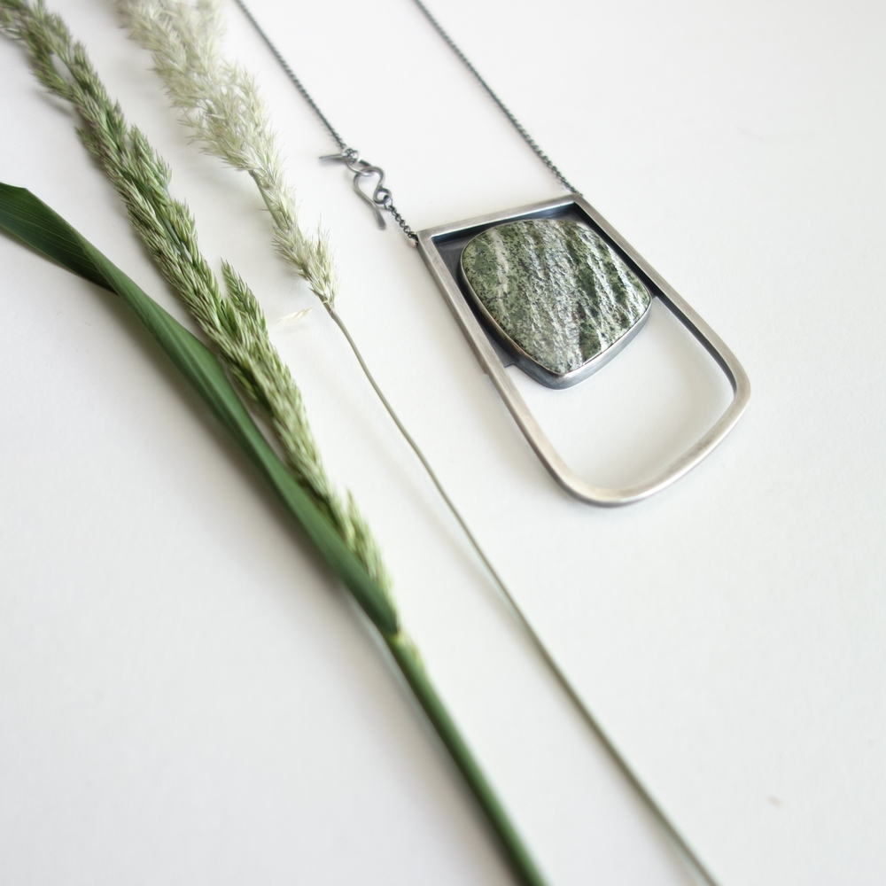 Captured Garden Necklace by MeritMade
