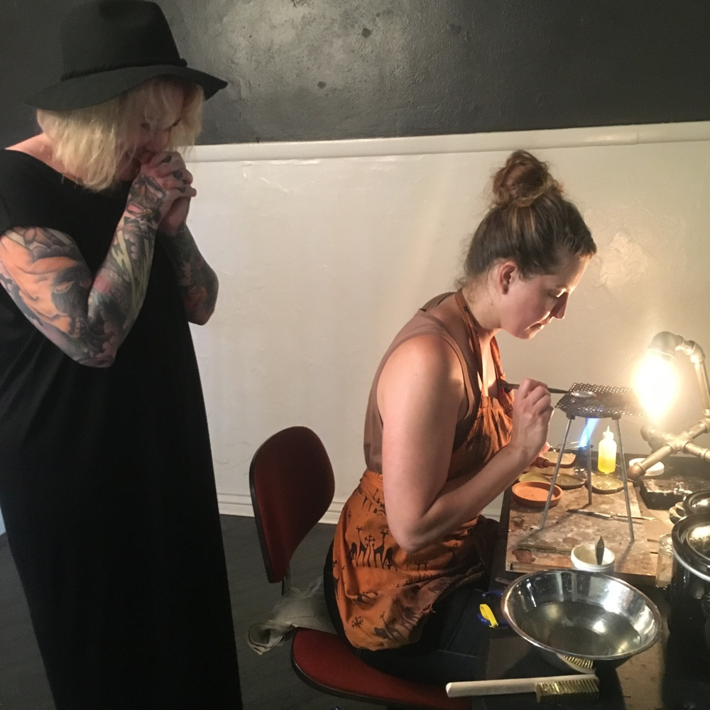 Amy prays for her gorgeous ring