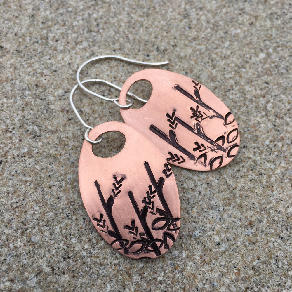 MeritMade Workshop Earring Workshop Make your own Earrings Hand Stamed