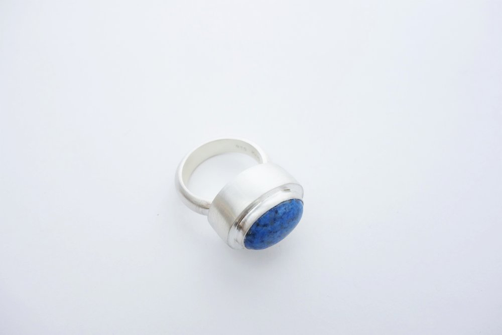 Lapis MeritMade Merit Made Handmade Kansas City Ring