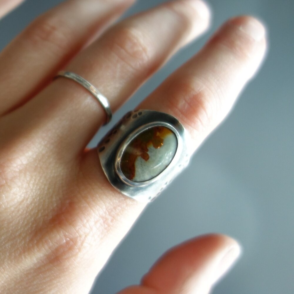 Picture Jasper Desert Ring by MeritMade